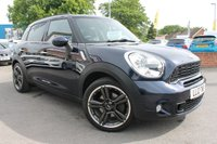 USED 2012 12 MINI COUNTRYMAN 2.0 COOPER SD 5d AUTO 141 BHP LOADS OF EXTRAS - SAT NAV - BLUETOOTH - ALLOY WHEELS - 2 OWNER - LOADS OF SERVICE HISTORY - MUST BE SEEN