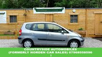 USED 2004 04 HONDA JAZZ 1.3 DSI SE 5d AUTO 82 BHP Here is an excellent jazz automatic, in classic gray with blue inserts on the seats. It has sunroof, air conditioning, gearbox shift buttons on the steering wheel, lumbar support, all 4 electric windows, retractable parcel-shelf, and has low mileage for the age. Runs brilliantly, cheap to run very comfortable to drive. First to see will buy.