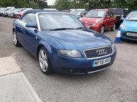 USED 2005 55 AUDI A4 2.5 TDI S LINE 2d AUTO 161 BHP A Lovely Convertible Audi With Great Service History And A Free 6 Month Warranty!