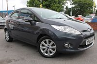 USED 2010 60 FORD FIESTA 1.2 ZETEC 5d 81 BHP EXCELLENT SERVICE HISTORY - ALLOY WHEELS - BLUETOOTH HANDS FREE - MULTI FUNCTION STEERING WHEEL