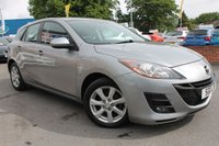 USED 2011 11 MAZDA 3 1.6 TS2 5d 105 BHP EXCELLENT SERVICE HISTORY - POWER FOLD DOOR MIRRORS - ALLOY WHEELS - CRUISE CONTROL - MULTI FUNCTION STEERING WHEEL