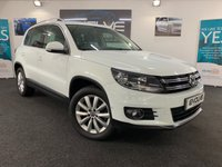 USED 2014 64 VOLKSWAGEN TIGUAN 2.0 MATCH TDI BLUEMOTION TECHNOLOGY 4MOTION 5d 139 BHP LOW MILES, IMMACULATE EXAMPLE!