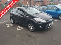 USED 2011 11 FORD FIESTA 1.4 ZETEC TDCI 5d 69 BHP ONLY 27209 MILES FROM NEW, EXCEPTIONALLY CHEAP TO RUN, LOW CO2 EMISSIONS. GOOD SPEC WITH DAYTIME RUNNING LIGHTS, STEERING WHEEL CONTROLS AND AUX INPUT, MEETS LARGE CITY EMISSION STANDARDS!