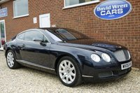 USED 2005 05 BENTLEY CONTINENTAL 6.0 GT 2d AUTO 550 BHP