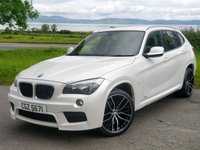 2012 BMW X1 XDRIVE 20D M SPORT £9945.00