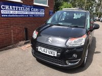 USED 2012 62 CITROEN C3 PICASSO 1.6 PICASSO VTR PLUS HDI 5d 90 BHP ONLY 54K MILES, £30 TAX