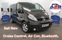USED 2014 14 RENAULT TRAFIC 2.0 DCI SL27 SPORT 115 BHP  Sat Nav, Air Con, Bluetooth, Alloy Wheels, Cruise Control and much more... **Drive Away Today** Over The Phone Low Rate Finance Available**