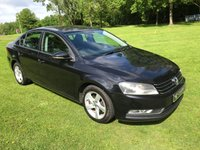 USED 2012 12 VOLKSWAGEN PASSAT 1.6 S TDI BLUEMOTION TECHNOLOGY 4d 104 BHP **EXCELLENT FINANCE PACKAGES**FULL VW SERVICE HISTORY**TIMING BELT + WATER PUMP REPLACED**