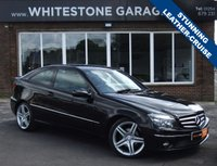 USED 2009 09 MERCEDES-BENZ CLC CLASS 1.8 CLC180 KOMPRESSOR SPORT 3d 143 BHP SPORT COUPE, LEATHER SEATS, FRONT AND REAR PARKING SENSORS, CRUISE CONTROL.