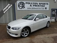 USED 2012 12 BMW 3 SERIES BMW 318i COUPE + PEARL WHITE + FULL RED LEATHER +55K FSH + 1 PR OWNER COUPE