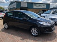 2013 FORD FIESTA 1.2 ZETEC 3d 81 BHP Full Ford Service History £30 a year road tax  £SOLD