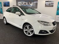 USED 2011 11 SEAT IBIZA 1.4 SE COPA 3d 85 BHP GREAT SPEC, LOW MILEAGE!!