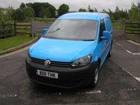 2011 VOLKSWAGEN CADDY MAXI 1.6 C20 TDI 1d 101 BHP Van - SOLD £6495.00