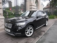 USED 2012 62 BMW X1 2.0 XDRIVE20D XLINE 5d 181 BHP *FINANCE ARRANGED*PART EXCHANGE WELCOME*FULL LEATHER*4X4*5 SERVICES*