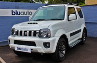 USED 2015 15 SUZUKI JIMNY 1.3 SZ4 3d 85 BHP Low Low Miles, Leather Interior, Parking Sensors, Side Bars...As New....