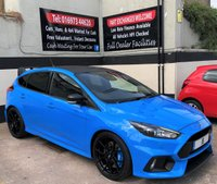 USED 2018 18 FORD FOCUS RS 'EDITION' 2.3 ECOBOOST 5DR MOUNTUNE FPM375, GHOST IMMOBILSER FORD WARRANTY UNTIL APRIL 2021, SHELL SEATS & FORGED ALLOYS.