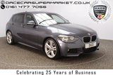USED 2012 12 BMW 1 SERIES 1.6 118I M SPORT 5DR 168 BHP BMW SERVICE HISTORY + PARKING SENSOR + BLUETOOTH + CRUISE CONTROL + CLIMATE CONTROL + MULTI FUNCTION WHEEL + PRIVACY GLASS + RADIO/CD/AUX/USB + ELECTRIC WINDOWS + ELECTRIC MIRRORS + 18 INCH ALLOY WHEELS
