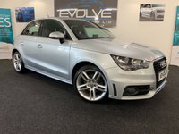 USED 2013 63 AUDI A1 1.6 SPORTBACK TDI S LINE 5d 105 BHP F/S/H, LOW MILES, IMMACULATE!