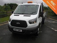 USED 2017 17 FORD TRANSIT 2.0 350 L2  DRW 1d 129 BHP Tipper Only 21000 miles, 1 Owner from New, Manufacturers Warranty