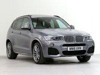 2016 BMW X3 3.0 XDRIVE30D M SPORT 5d AUTO 255 BHP [£8,315 OPTIONS] £24617.00