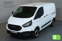 USED 2018 18 FORD TRANSIT CUSTOM 2.0 300 BASE L1 H1 SWB LOW ROOF 104 BHP EURO 6 MANUFACTURER WARRANTY UNTIL 04/07/2021