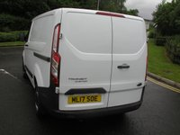 USED 2017 17 FORD TRANSIT CUSTOM 2.0 290 LR P/V 1d 104 BHP Van - SOLD Only 31000 miles, 1 Owner from New, Service History, Manufacturers Warranty
