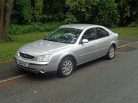 USED 2001 FORD MONDEO 2.0 ZETEC 16V 5d AUTO 145 BHP FULL MOT READY TO GO