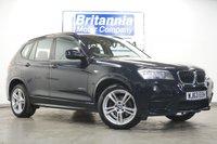 2013 BMW X3 2.0 XDRIVE20D DIESEL M SPORT AUTOMATIC 181 BHP £14990.00