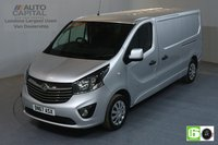 USED 2017 67 VAUXHALL VIVARO 1.6 L2H1 2900 SPORTIVE 120 BHP AIR CON EURO 6 MANUFACTURE WARRANTY UNTIL 31/10/2020,