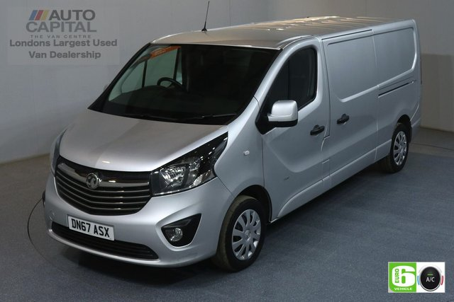 2017 67 VAUXHALL VIVARO 1.6 L2H1 2900 SPORTIVE 120 BHP AIR CON EURO 6 MANUFACTURE WARRANTY UNTIL 31/10/2020,