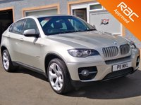 "USED 2010 60 BMW X6 3.0 XDRIVE40D 4d 302 BHP Fully Loaded, Sat nav, Glass Roof, Heated leather Seats, 20"" Alloys, Power Tailgate"