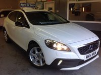 2014 VOLVO V40 1.6 D2 CROSS COUNTRY LUX  AUTOMATIC £8695.00