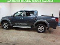 USED 2006 06 MITSUBISHI L200 2.5 ANIMAL LWB DCB 1d 164 BHP £140 A YEAR TAX+LEATHER AND AIRCON AND NO VAT!!!!