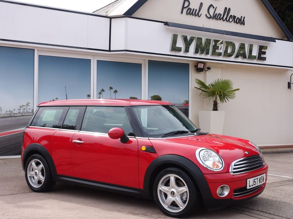 USED 2008 57 MINI CLUBMAN 1.6 COOPER 5d 118 BHP