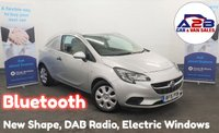 2015 VAUXHALL CORSA VAN 1.3 CDTI 75 BHP in Silver with Bluetooth, DAB Radio, Electric Windows & Mirrors, Remote Locking and more... £4680.00