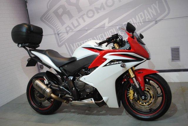 2012 12 HONDA CBR 600 FA-B 599cc