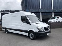 USED 2017 17 MERCEDES-BENZ SPRINTER 314 CDI LWB Hi Roof 2.1 130 BHP 2017 (17) Plate