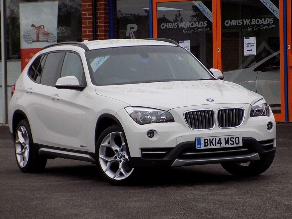 USED 2014 14 BMW X1 2.0 xDrive 18D xLine 5dr Step Auto ** 4WD + Auto + Leather **