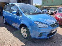 2008 FORD C-MAX 1.6 STYLE 5d 100 BHP £2495.00