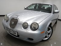 """USED 2006 56 JAGUAR S-TYPE 4.2 V8 R (400 bhp) 4dr AUTO..NAV..2 TONE LEATHERS 18""""ALLOYS+R STYLING PACK+NAVIGATION+E/HEATED LEATHERS"""