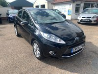 USED 2010 59 FORD FIESTA 1.2 ZETEC 5d 81 BHP FULL SERVICE HISTORY / VOICE COMM / BLUETOOTH / USB