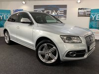 USED 2012 62 AUDI Q5 2.0 TDI QUATTRO S LINE PLUS 5d AUTO 175 BHP HUGE SPEC, IMMACULATE IN & OUT