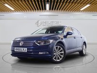 "USED 2015 65 VOLKSWAGEN PASSAT 2.0 SE BUSINESS TDI BLUEMOTION TECH DSG 4d AUTO **NO ULEZ CHARGE ON THIS VEHICLE** SATNAV | LEATHERS | 17"" ALLOYS"