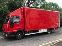 2012 IVECO EUROCARGO 3.9 75E18S AUTO 177 BHP 20FT BOX VAN WITH ANTEO TAILLIFT £9750.00