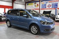 2011 VOLKSWAGEN TOURAN 1.6 SE TDI 5d 106 BHP £6345.00