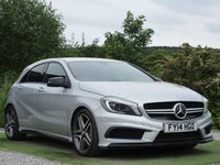 USED 2014 14 MERCEDES-BENZ A CLASS 2.0 A45 AMG 4MATIC 5d AUTO 360 BHP