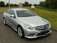USED 2013 13 MERCEDES-BENZ E CLASS 2.1 E250 CDI BLUEEFFICIENCY S/S SPORT 2d AUTO 204 BHP SAT NAV, AMG BODY STYLING