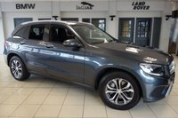 USED 2016 16 MERCEDES-BENZ GLC-CLASS 2.1 GLC 220 D 4MATIC SE 5d AUTO 168 BHP FINISHED IN STUNNING TENORITE GREY WITH FULL BLACK LEATHER SEATS + FULL MERCEDES BENZ SERVICE HISTORY + SATELLITE NAVIGATION + REVERSE CAMERA + FOUR WHEEL DRIVE + DAB RADIO + BLUETOOTH + 17 INCH ALLOYS + CRUISE CONTROL + AIR CONDITIONING