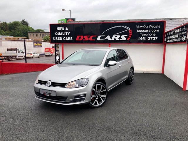 2015 65 VOLKSWAGEN GOLF 1.6 MATCH TDI BLUEMOTION TECHNOLOGY 5d 109 BHP