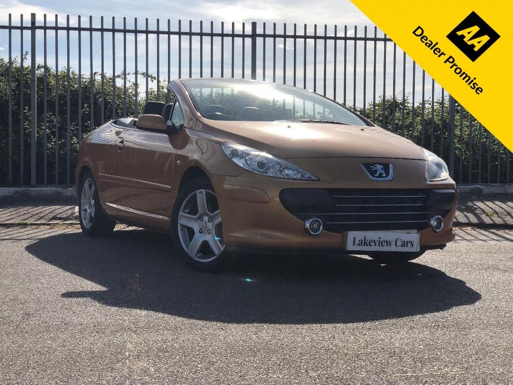 USED 2005 55 PEUGEOT 307 2.0 S COUPE CABRIOLET 2d AUTO 139 BHP